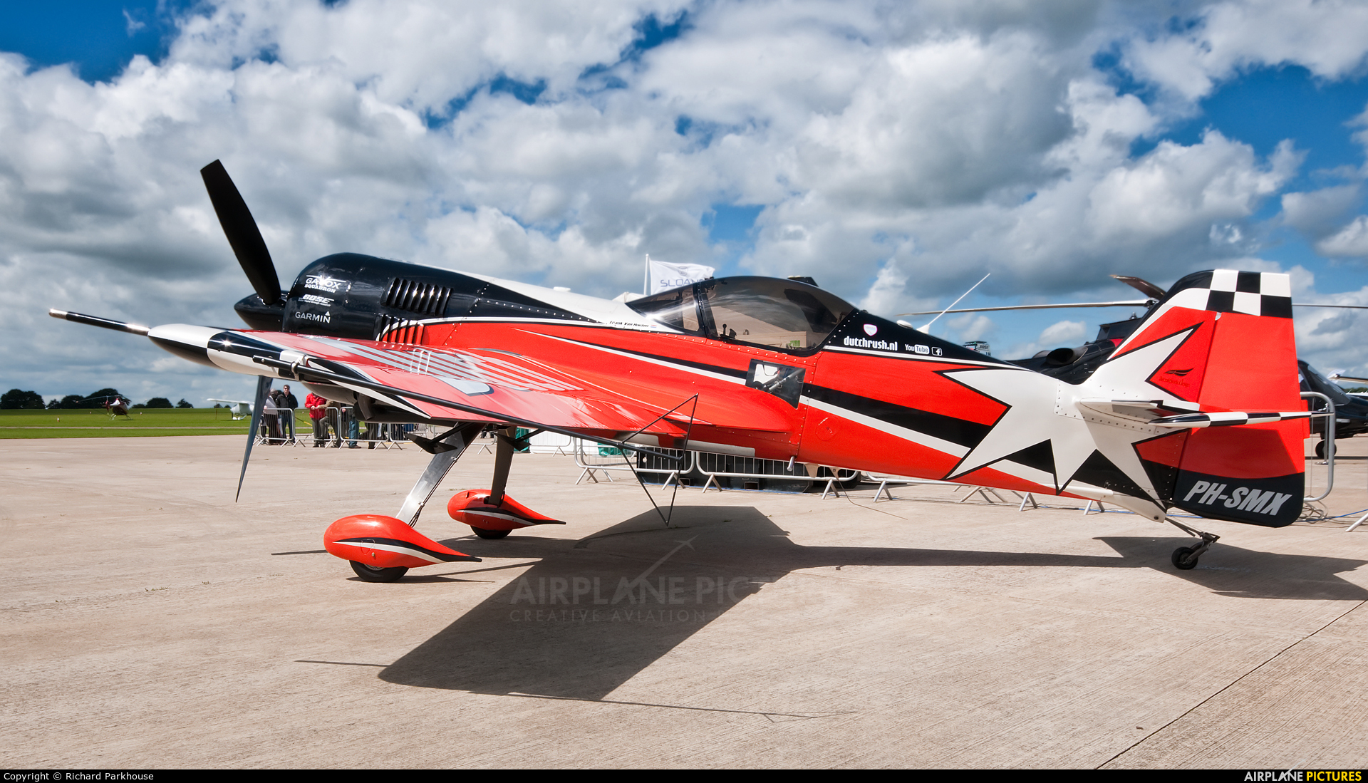 Private PH-SMX aircraft at Northampton / Sywell
