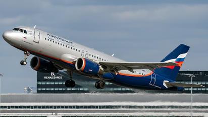 VP-BME - Aeroflot Airbus A320
