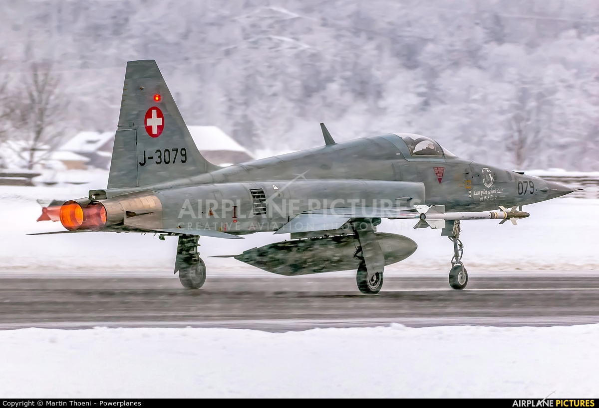Switzerland - Air Force J-3079 aircraft at Meiringen