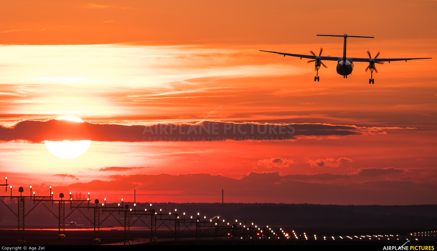 - Airport Overview OY-YBZ aircraft at Katowice - Pyrzowice