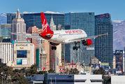 N523VA - Virgin America Airbus A319 aircraft