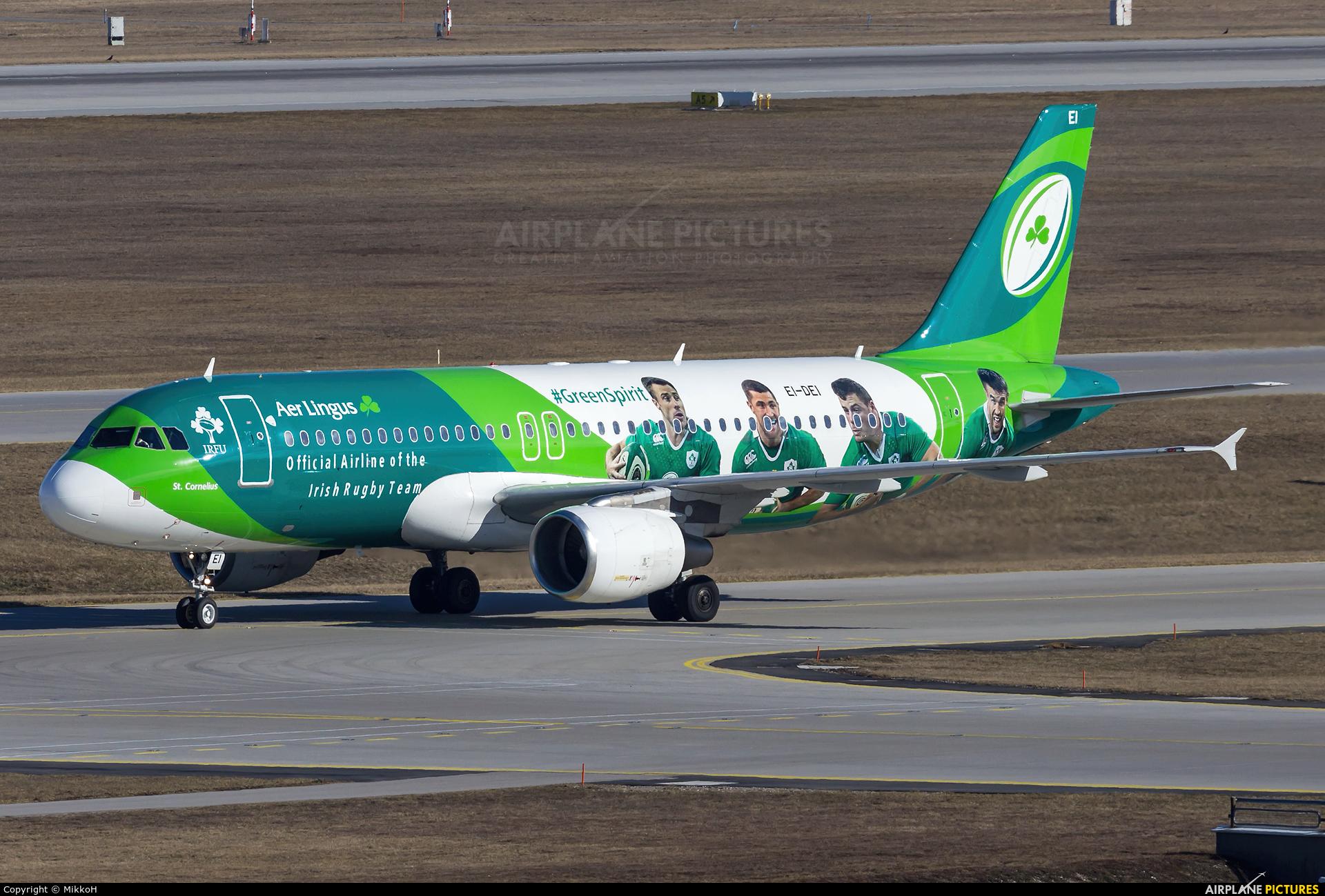 Aer Lingus EI-DEI aircraft at Munich