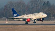 OY-KBP - SAS - Scandinavian Airlines Airbus A319 aircraft