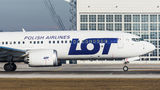 LOT - Polish Airlines Boeing 737-8 MAX SP-LVF at Munich airport