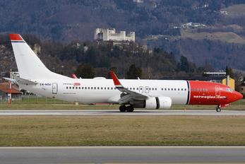 LN-NGU - Norwegian Air Shuttle Boeing 737-800