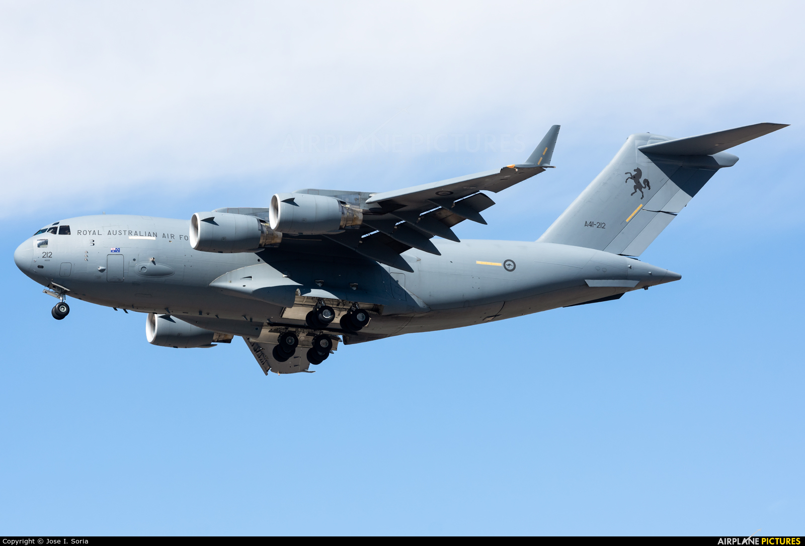 Australia - Air Force A41-212 aircraft at Madrid - Getafe