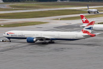 G-STBA - British Airways Boeing 777-300ER