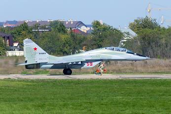 59 - Russia - Air Force Mikoyan-Gurevich MiG-29UB