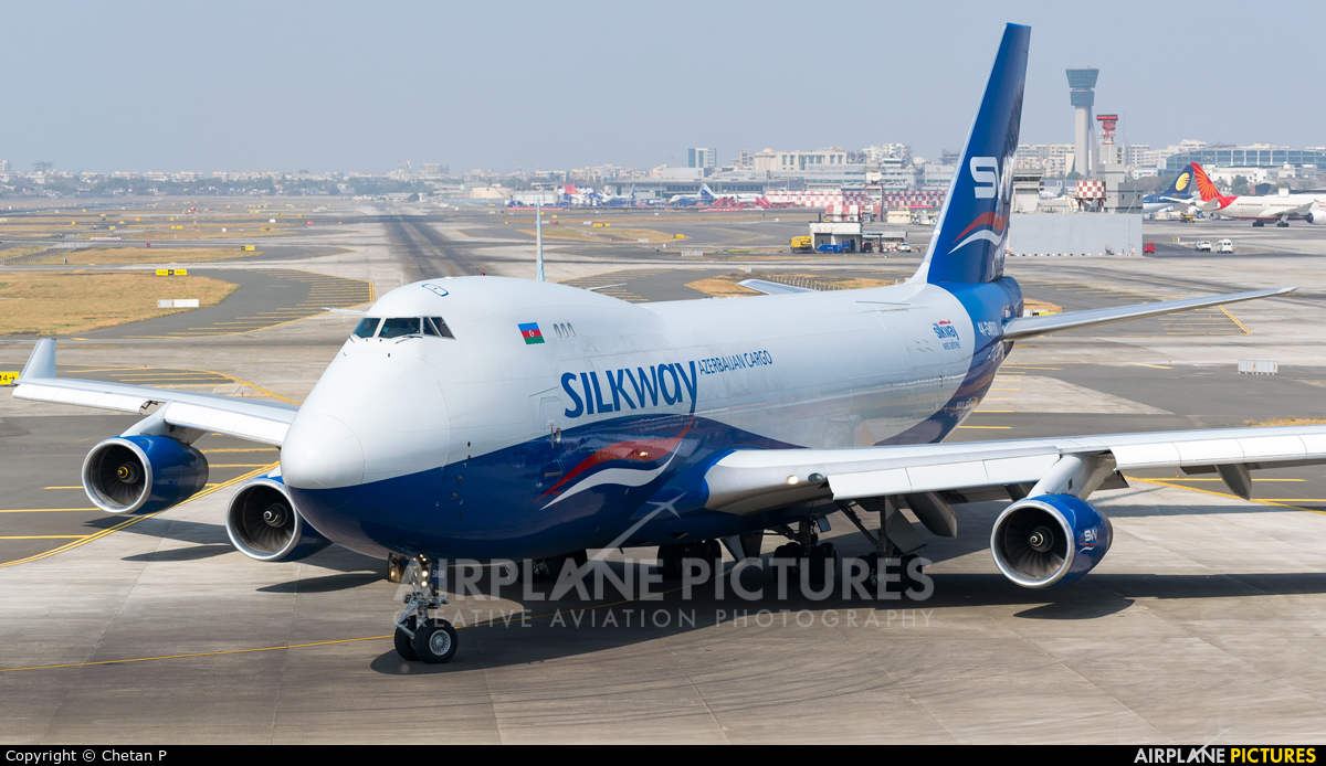 Silk Way Airlines 4K-SW888 aircraft at Mumbai - Chhatrapati Shivaji Intl