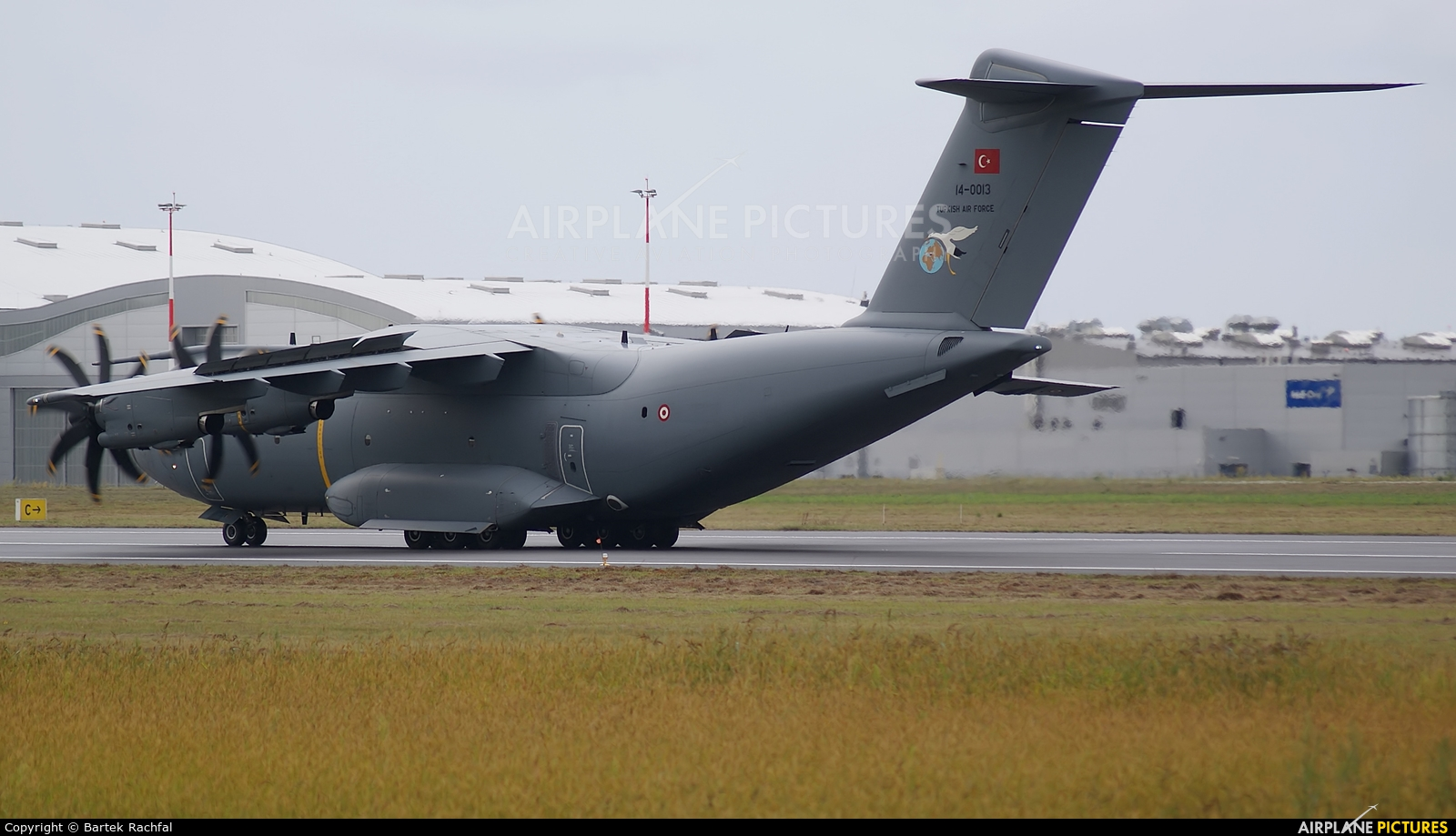 Turkey - Air Force 14-0013 aircraft at Rzeszów-Jasionka