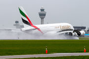 A6-EDP - Emirates Airlines Airbus A380 aircraft