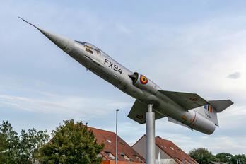 FX94 - Belgium - Air Force Lockheed F-104G Starfighter