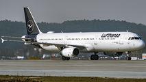 D-AIRD - Lufthansa Airbus A321 aircraft