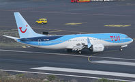 OO-TMB - TUI Airlines Belgium Boeing 737-8 MAX aircraft