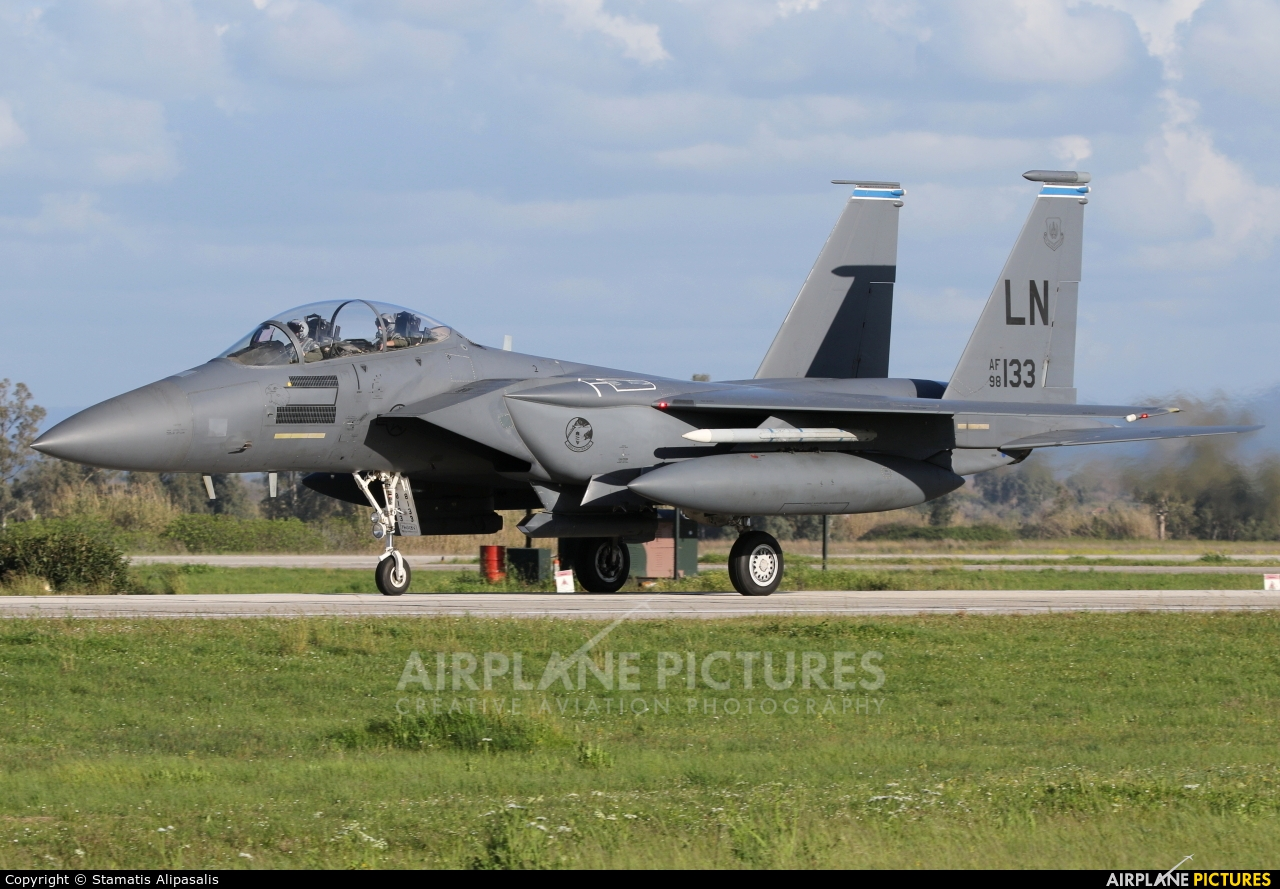 USA - Air Force 98-0133 aircraft at Andravida AB