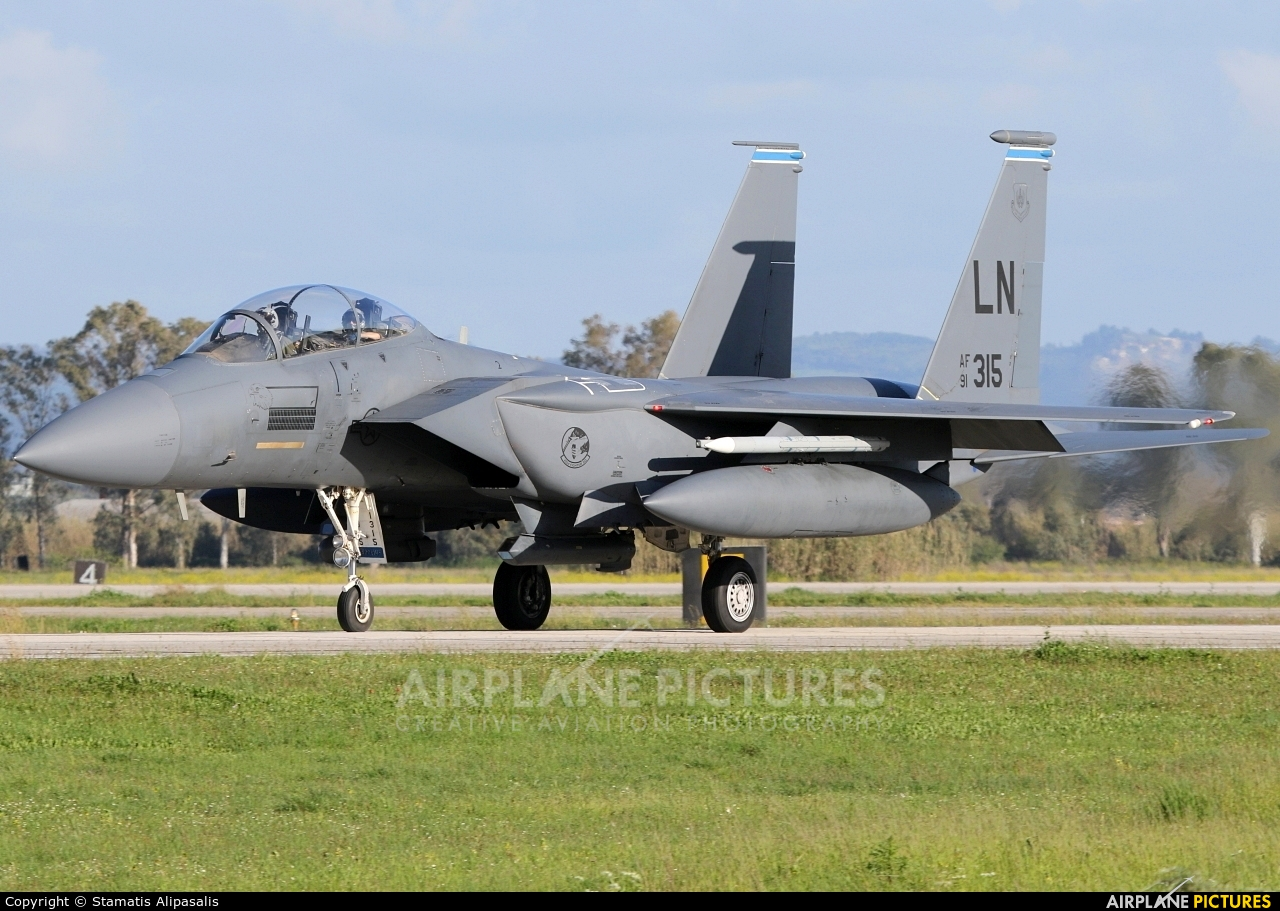 USA - Air Force 91-0315 aircraft at Andravida AB