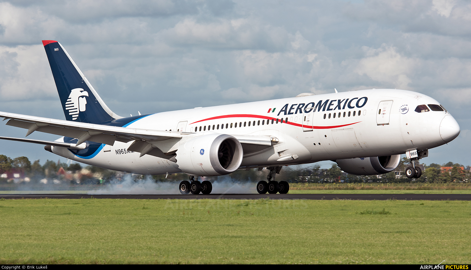 Aeromexico N965AM aircraft at Amsterdam - Schiphol