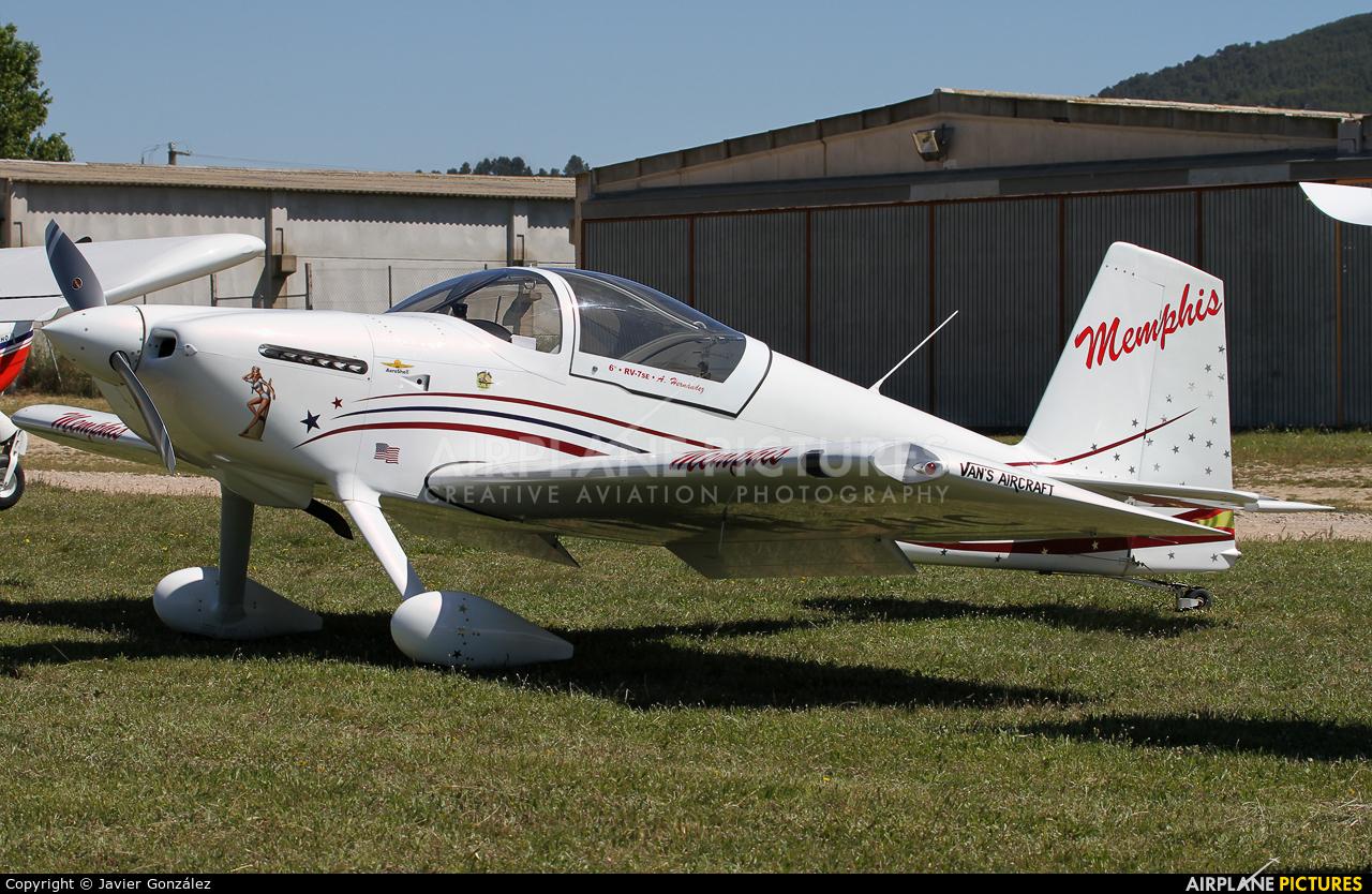 Private EC-XHC aircraft at Igualada - Odena