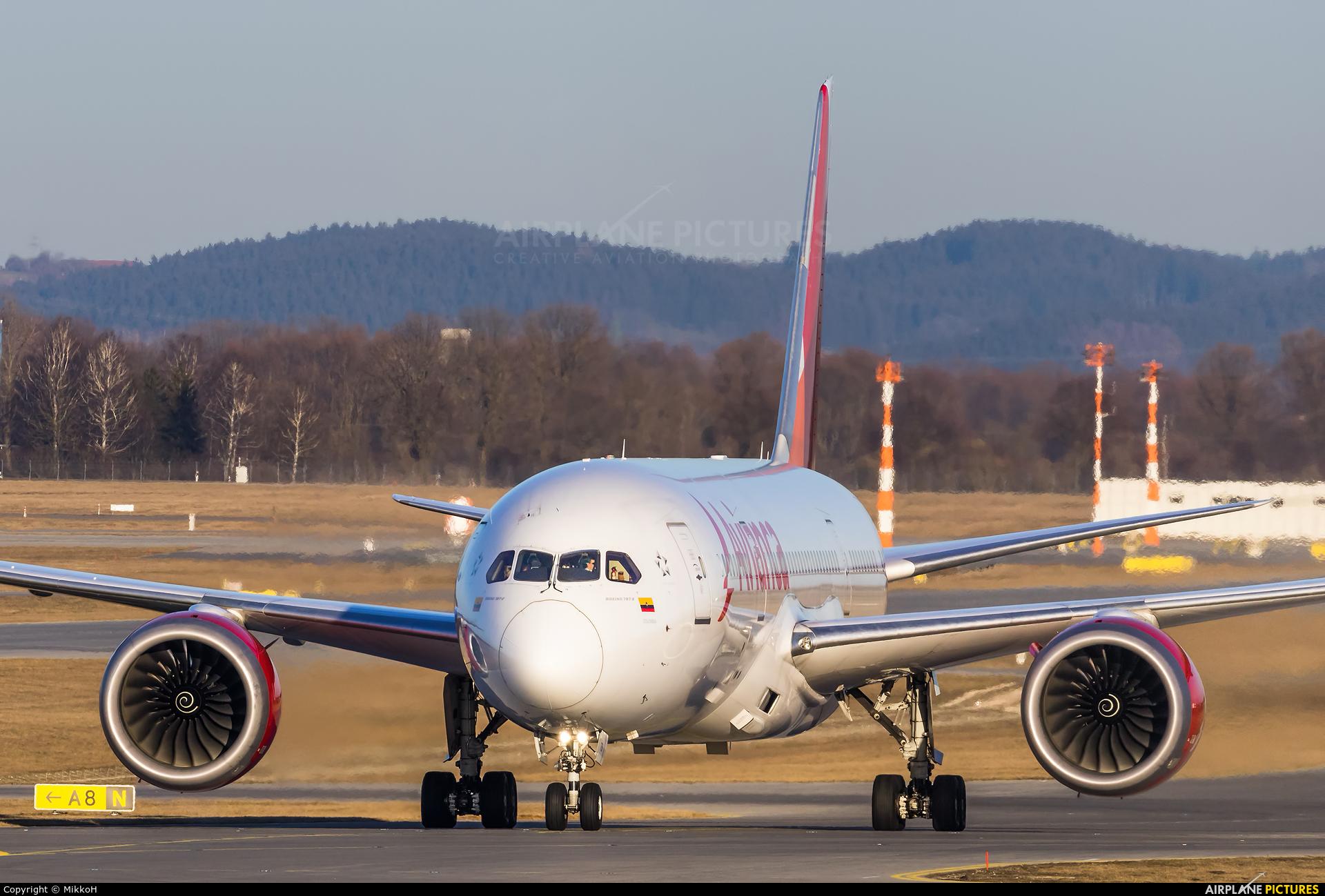 Avianca N791AV aircraft at Munich