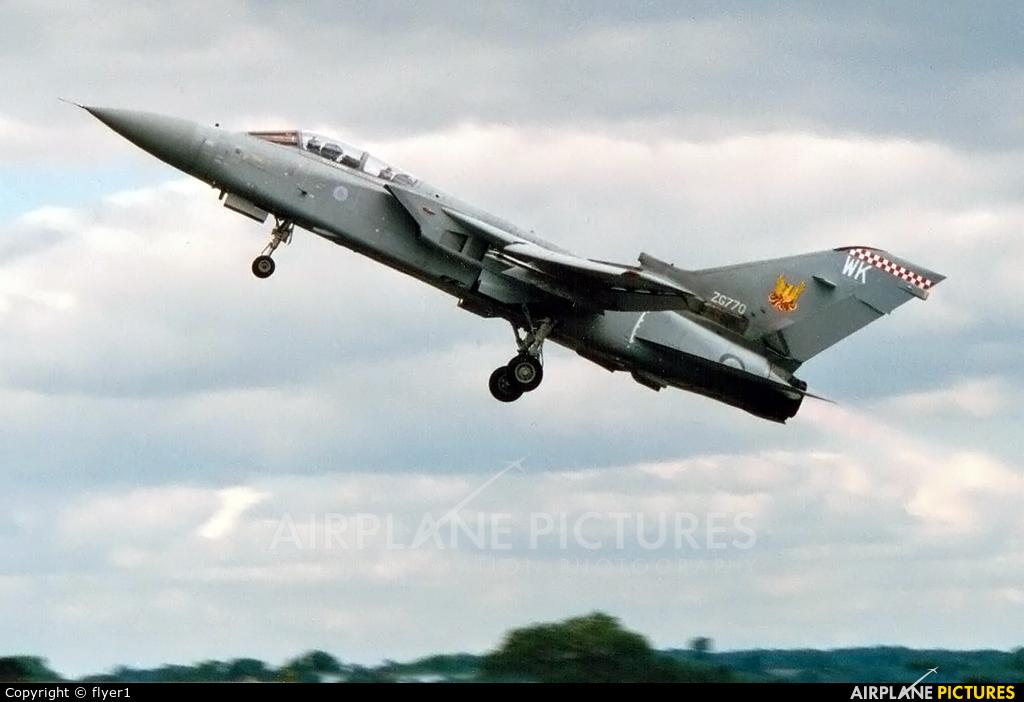 Royal Air Force ZG770 aircraft at Fairford
