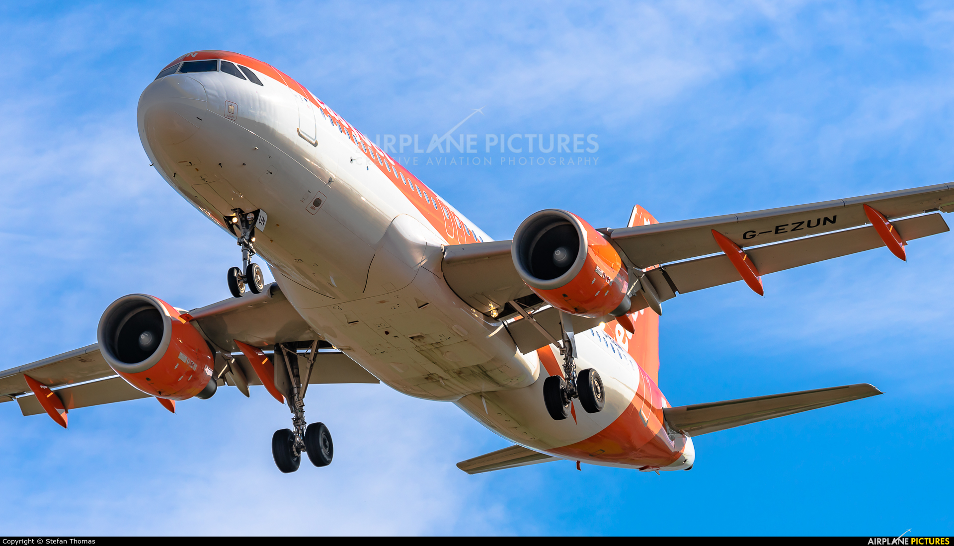 easyJet G-EZUN aircraft at Palma de Mallorca