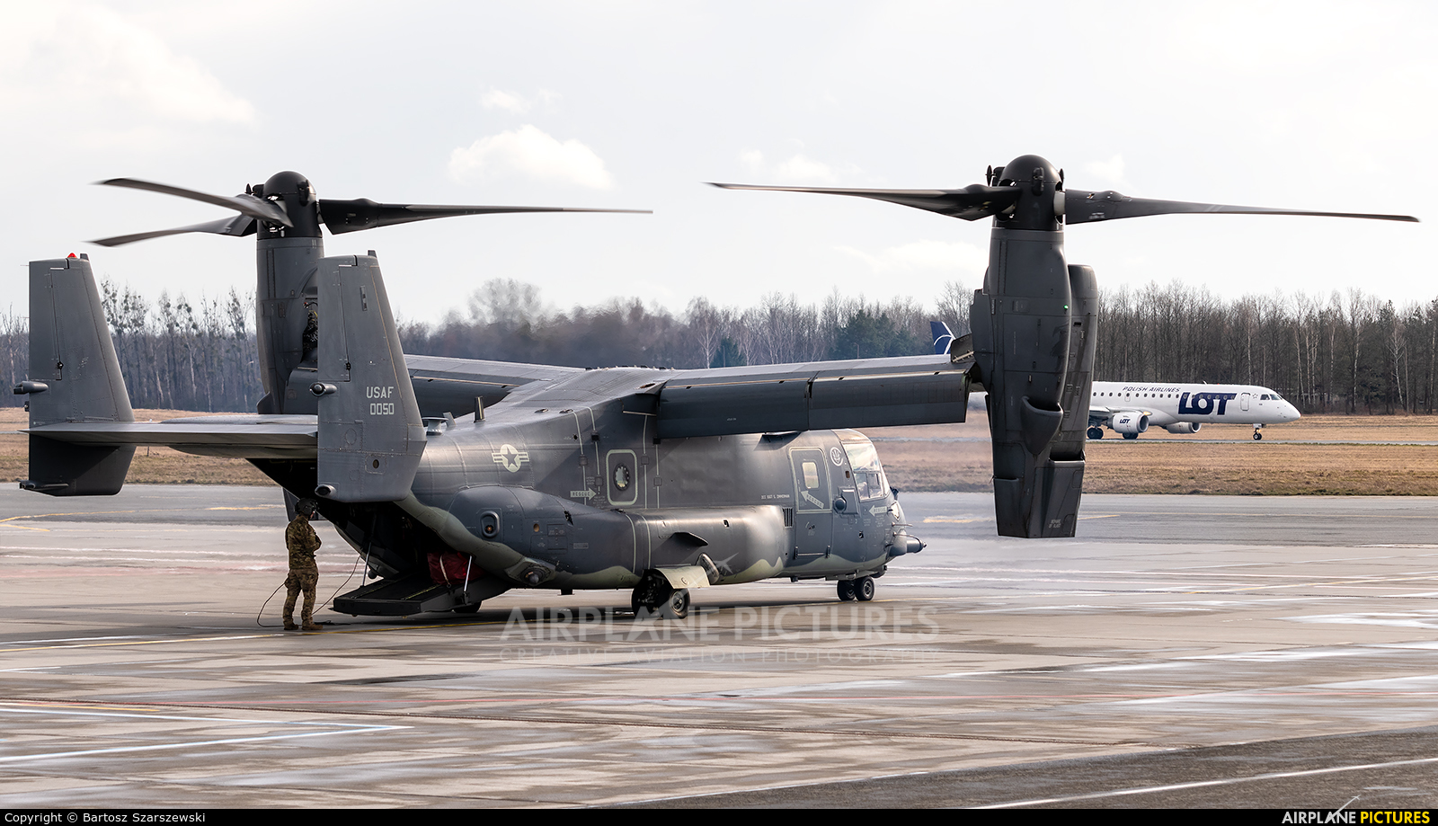 USA - Air Force 10-0050 aircraft at Wrocław - Copernicus