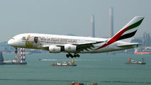A6-EUV - Emirates Airlines Airbus A380 aircraft