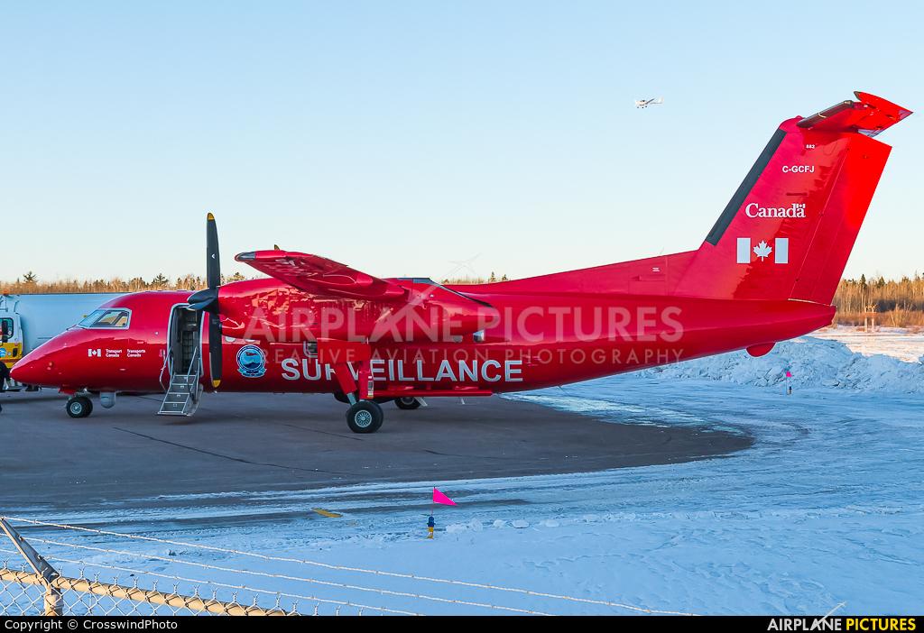 C-GCFJ aircraft at greater Moncton International