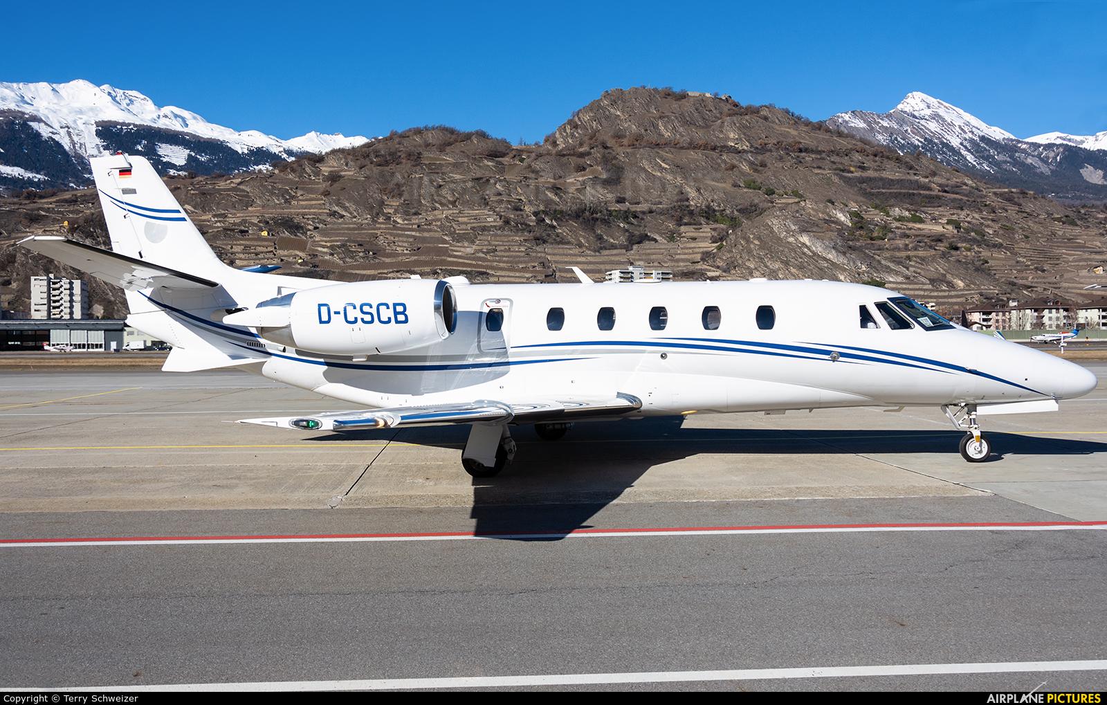 Silver Cloud Air D-CSCB aircraft at Sion