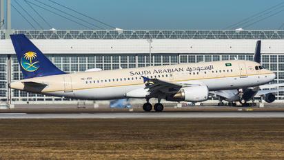 HZ-ASA - Saudi Arabian Airlines Airbus A320