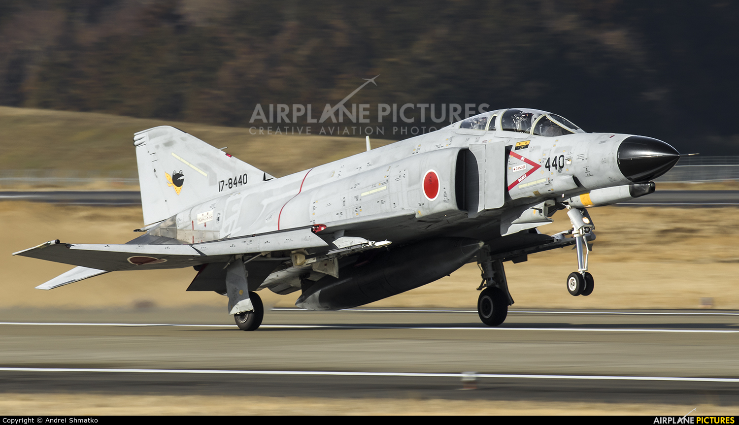 Japan - Air Self Defence Force 17-8440 aircraft at Ibaraki - Hyakuri AB