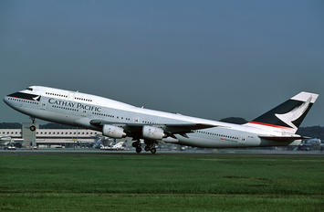 B-HII - Cathay Pacific Boeing 747-300