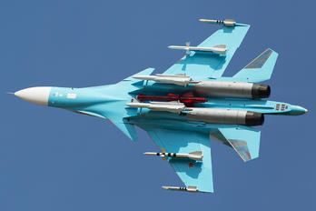 38 RED - Russia - Air Force Sukhoi Su-34