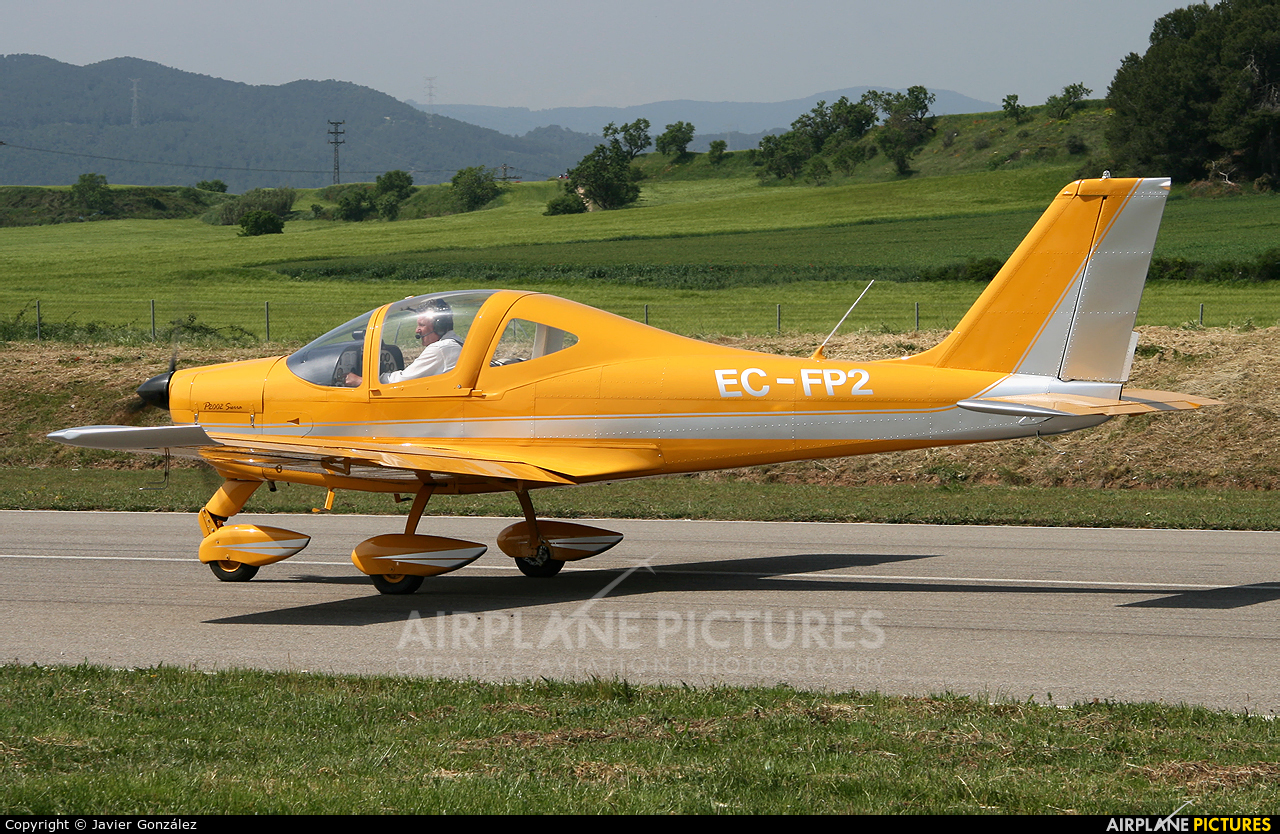Private EC-FP2 aircraft at Igualada - Odena
