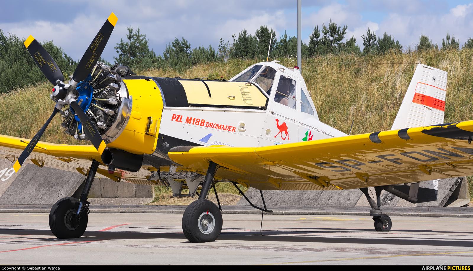 Aerogryf SP-FON aircraft at Świdwin