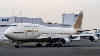 N263SG - Atlas Air Boeing 747-400