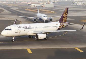 VT-TTK - Vistara Airbus A320