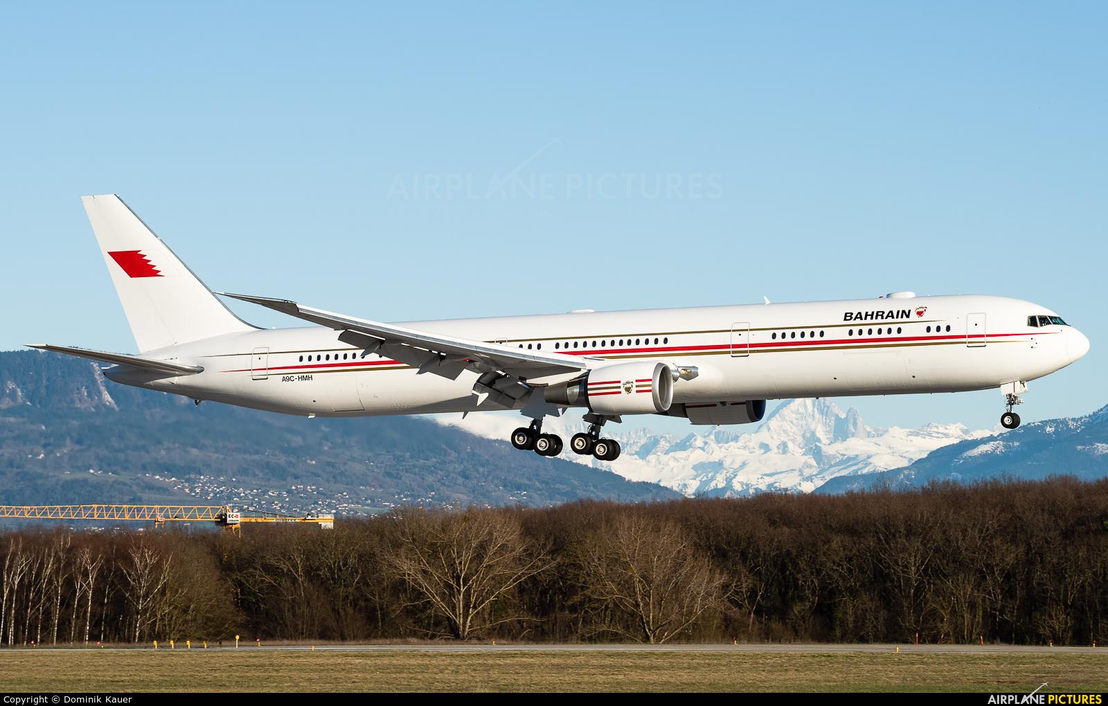 Bahrain Amiri Flight A9C-HMH aircraft at Geneva Intl