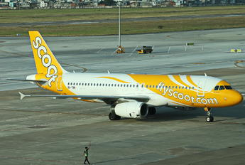 9V-TRR - Scoot Airbus A320