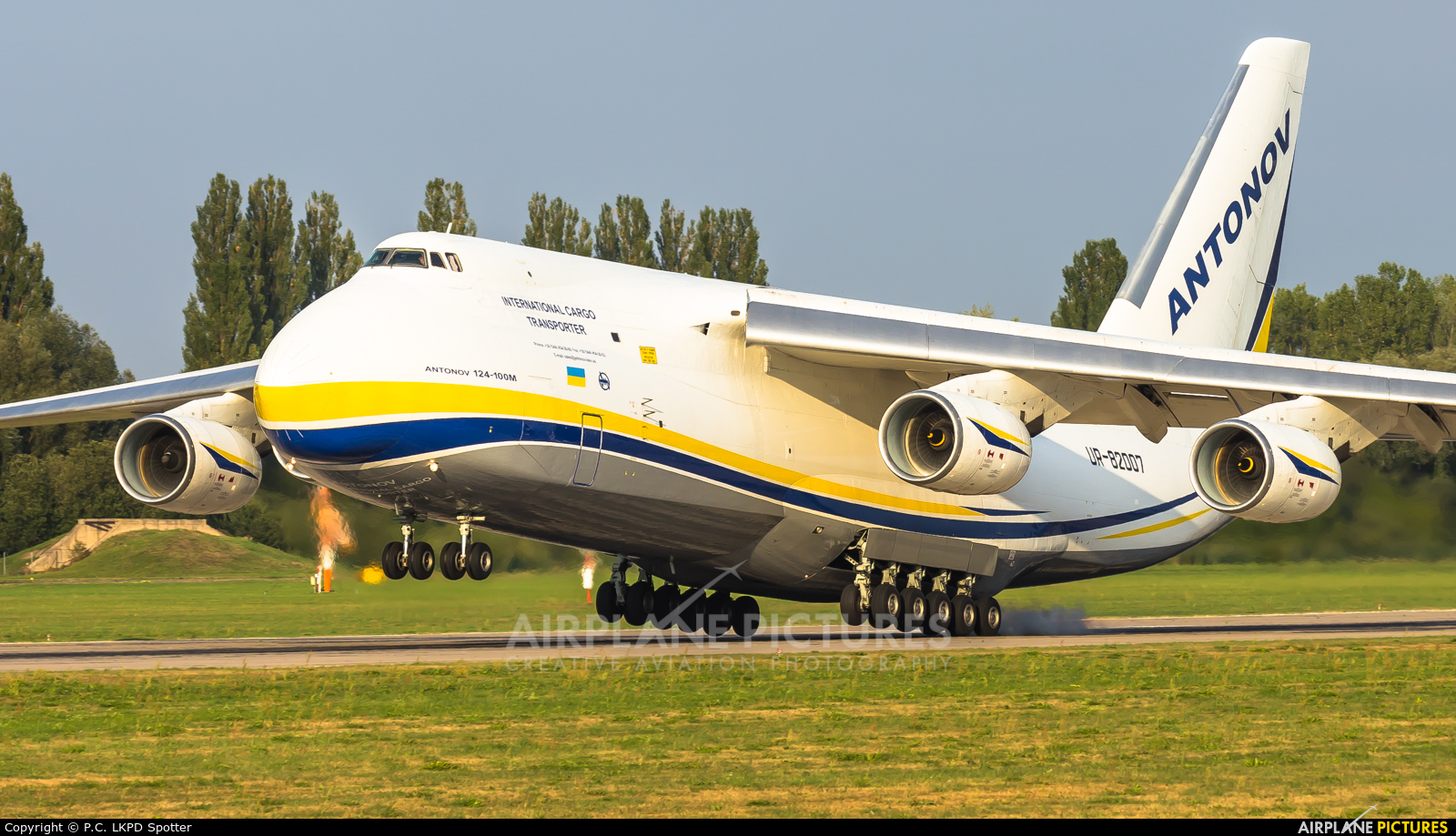 Antonov Airlines /  Design Bureau UR-82007 aircraft at Pardubice
