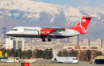 EP-FQV - Qeshm Airlines British Aerospace BAe 146-300/Avro RJ100
