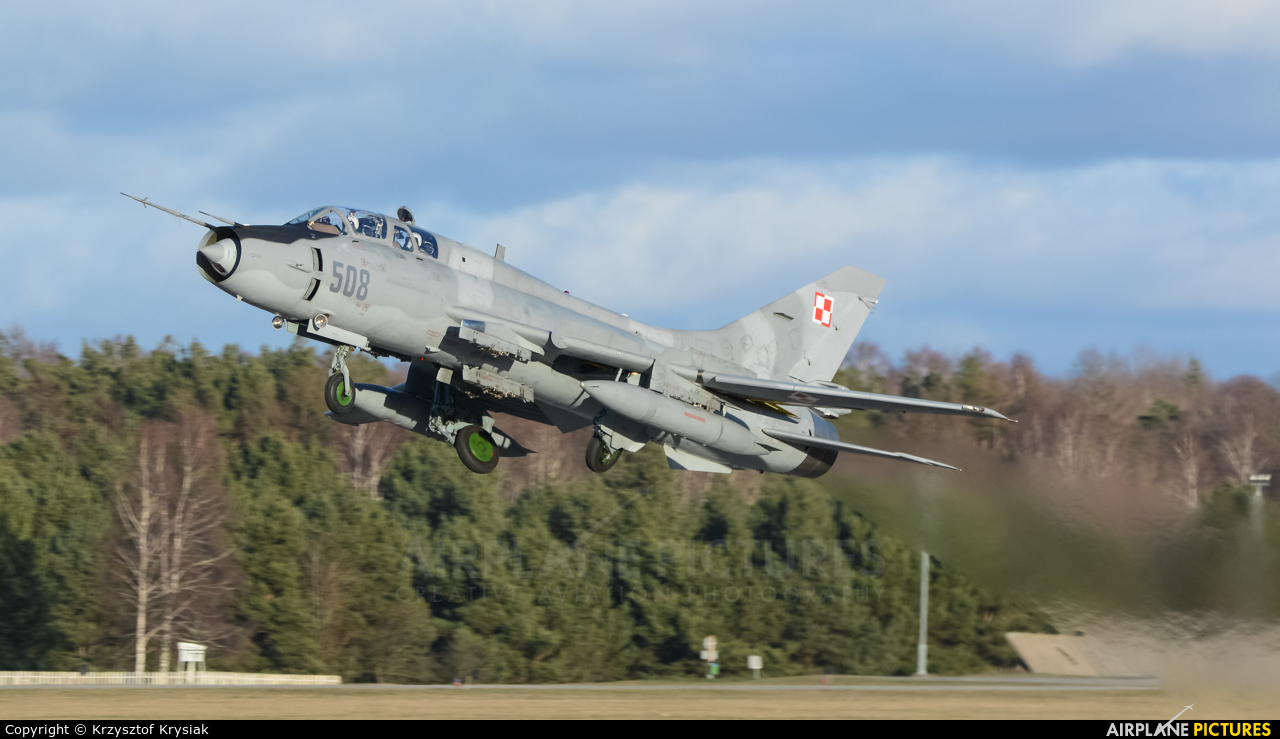 Poland - Air Force 508 aircraft at Świdwin