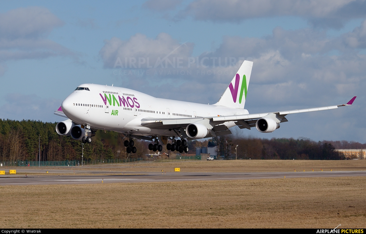 Wamos Air EC-MQK aircraft at Gdańsk - Lech Wałęsa