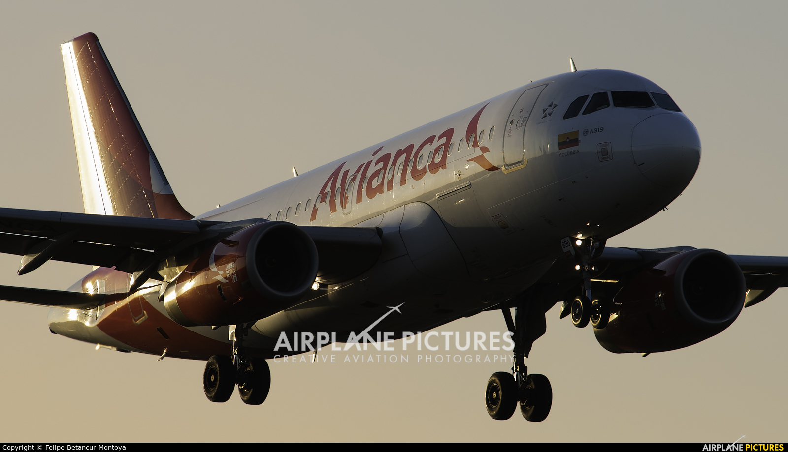 Avianca N690AV aircraft at Miami Intl