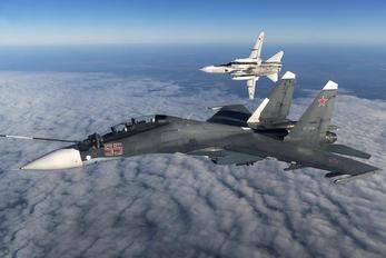 RF-93665 - Russia - Air Force Sukhoi Su-30SM