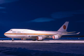 20-1102 - Japan - Air Self Defence Force Boeing 747-400