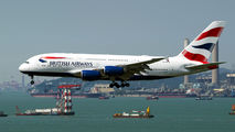 G-XLEG - British Airways Airbus A380 aircraft