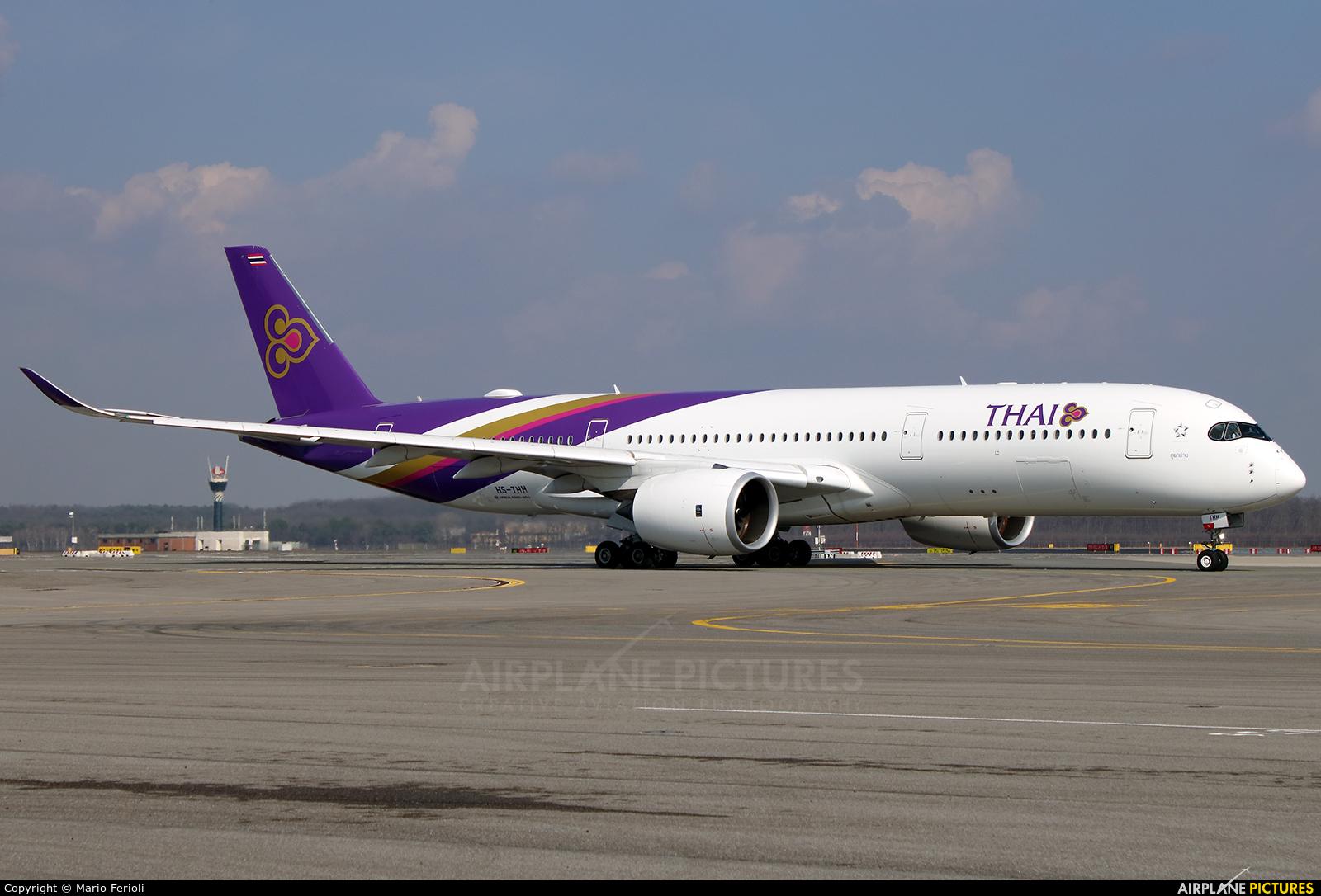 Thai Airways HS-THH aircraft at Milan - Malpensa