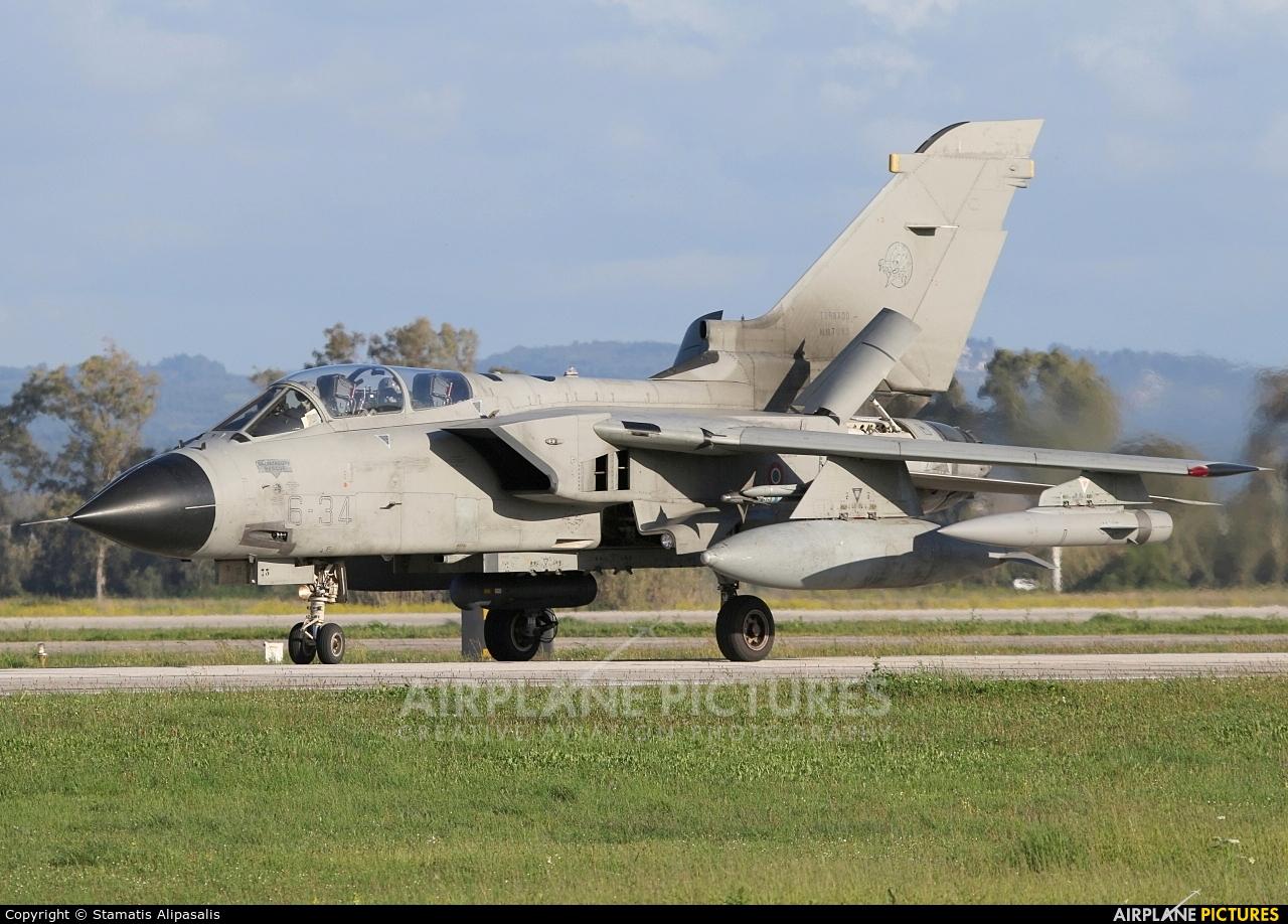 Italy - Air Force MM7073 aircraft at Andravida AB