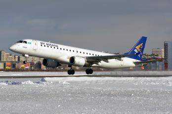 P4-KCG - Air Astana Embraer ERJ-190 (190-100)